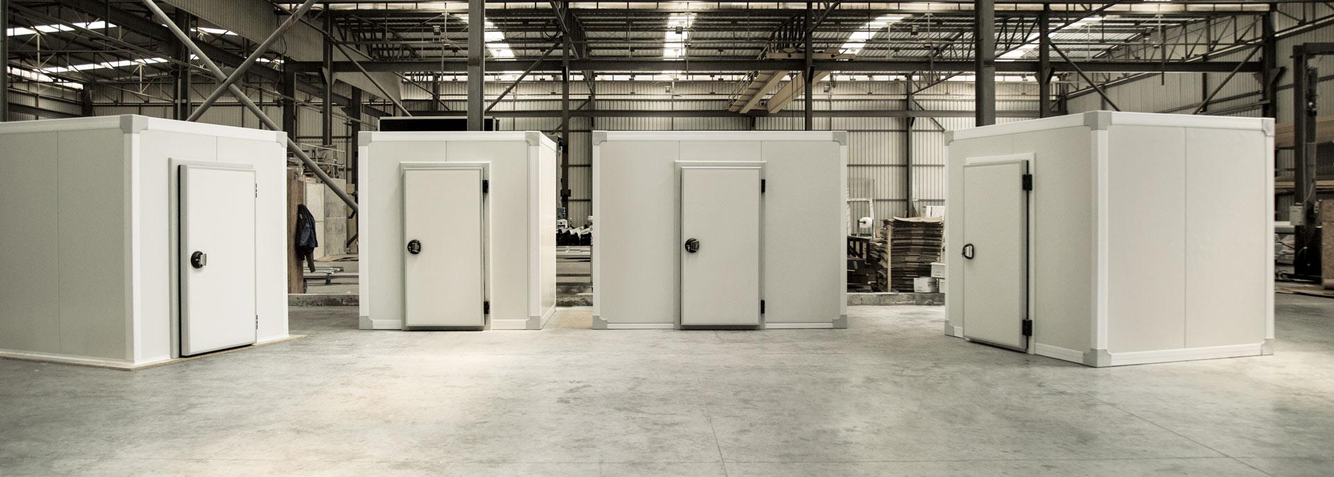 PVC Hygienic Profiles, Cómo ensamblar un cuarto frío con el sistema de molduras de PVC