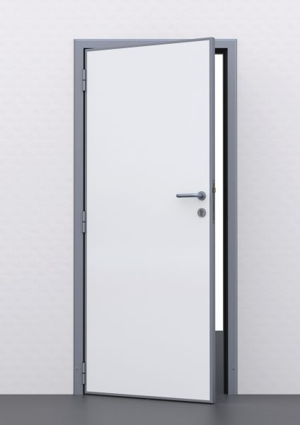 SEMI-INSULATING SERVICE DOOR