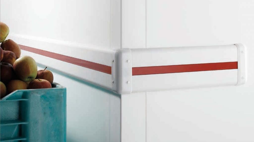 PVC Wall Protection for insulated panel wall