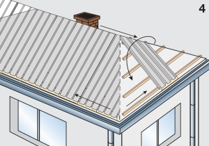 Application of insulated panels civil roofs