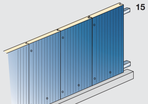 Application of insulated panels external cladding