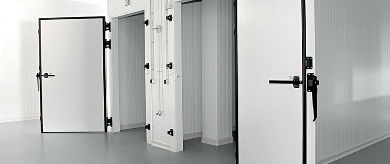 Why use a PVC cold-room door is a smart choice for cold storages, PVC breaks thermal bridges