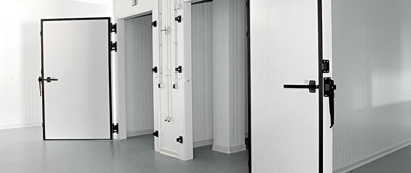 Por qué usar una puerta de cuarto frío con perfiles de PVC