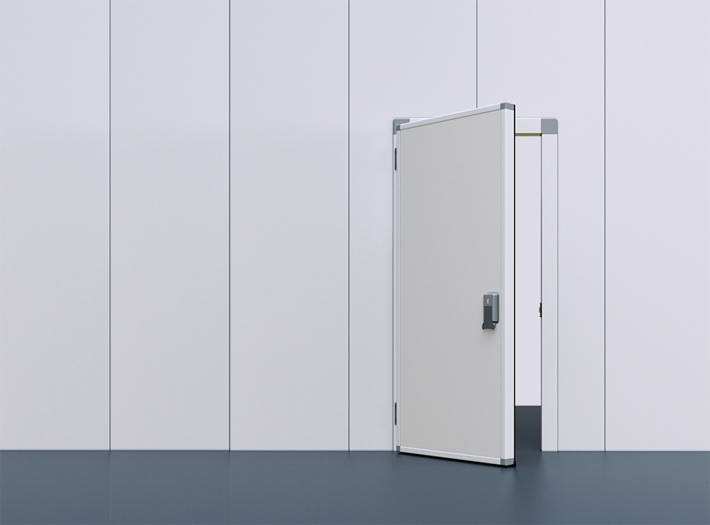 New modular cold - room and cold - room door at Refriaméricas 2019