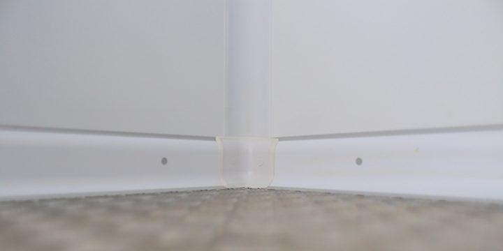 use of PVC sanitary profiles