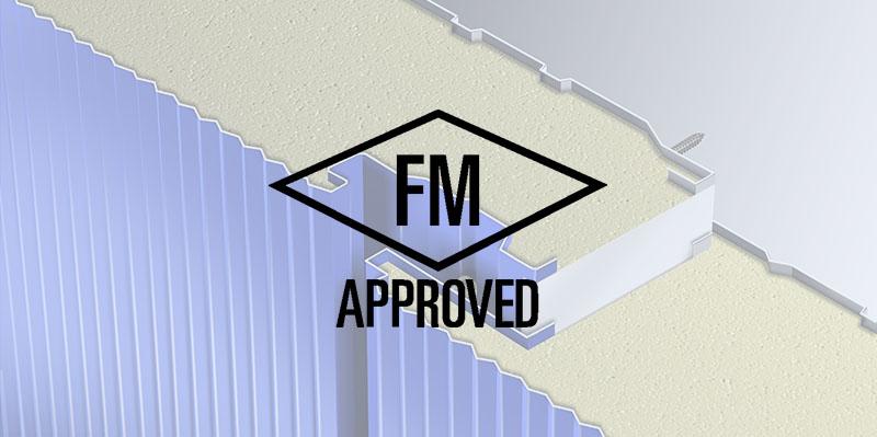 fm approved insulated metal panels, paneles metálicos aislantes aprobados por FM