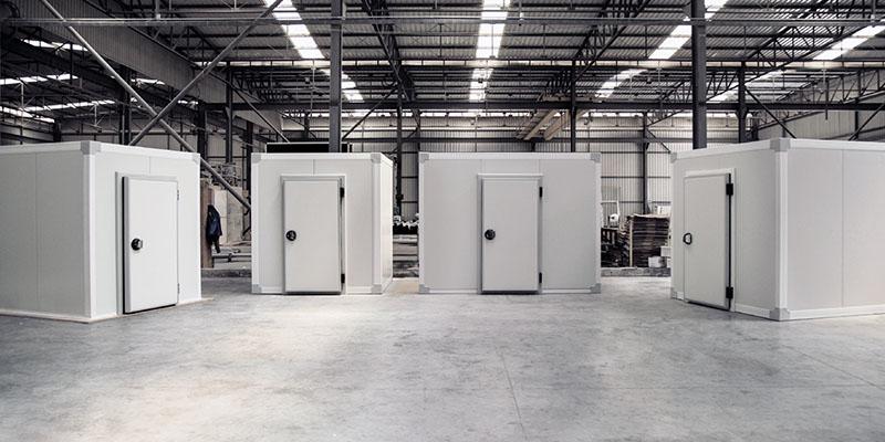 advantages of using the flat insulation panel for building a cold-room door, Ventajas del panel aislante plano para construir una puerta de cámara fría