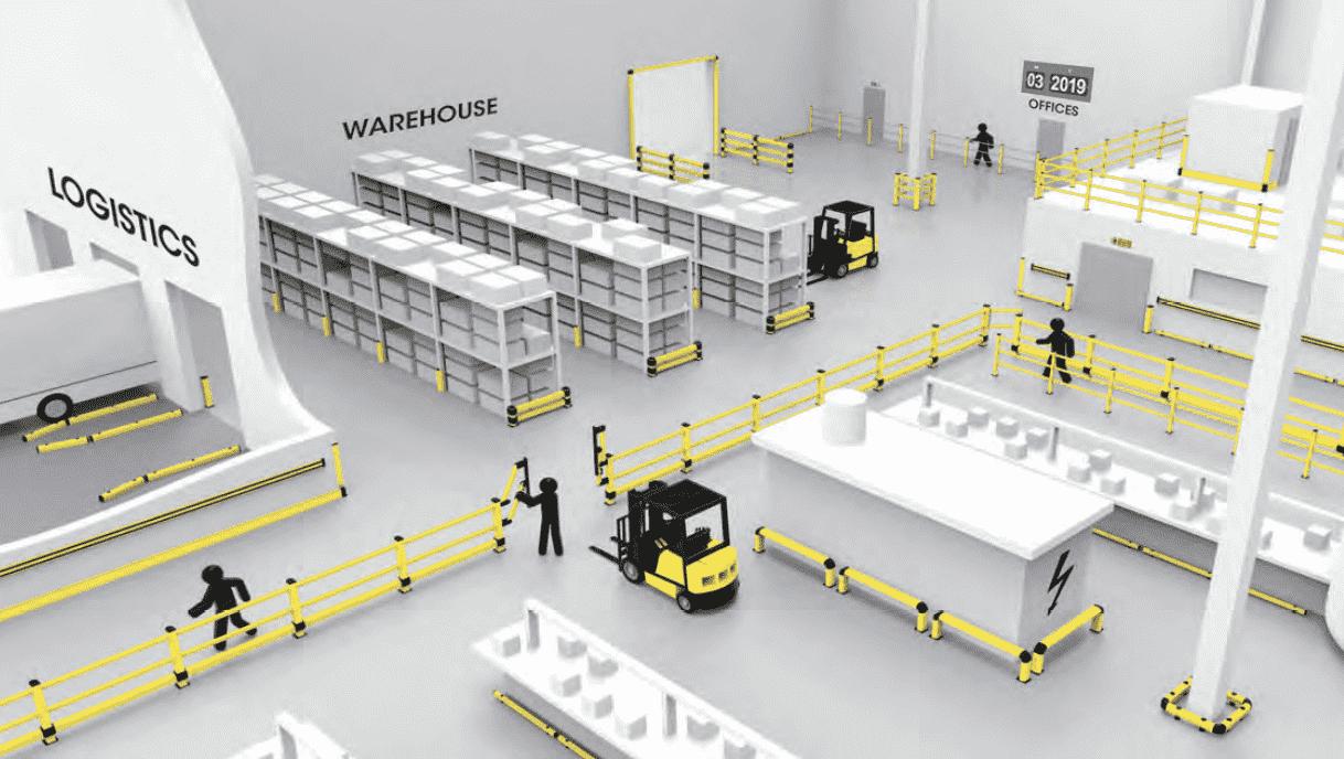 choose pvc industrial protection, las ventajas de protección industrial, sistema de protecciones industriales