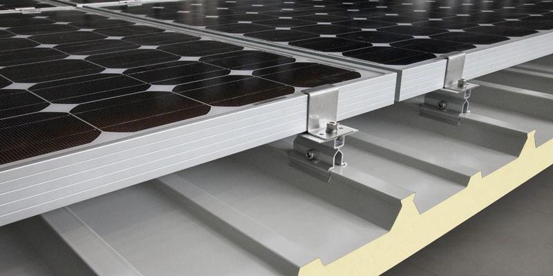 Solar Industrial Roof Panel