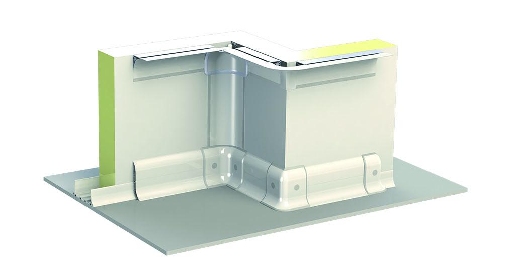 Hermetic System PVC Sanitary Profiles