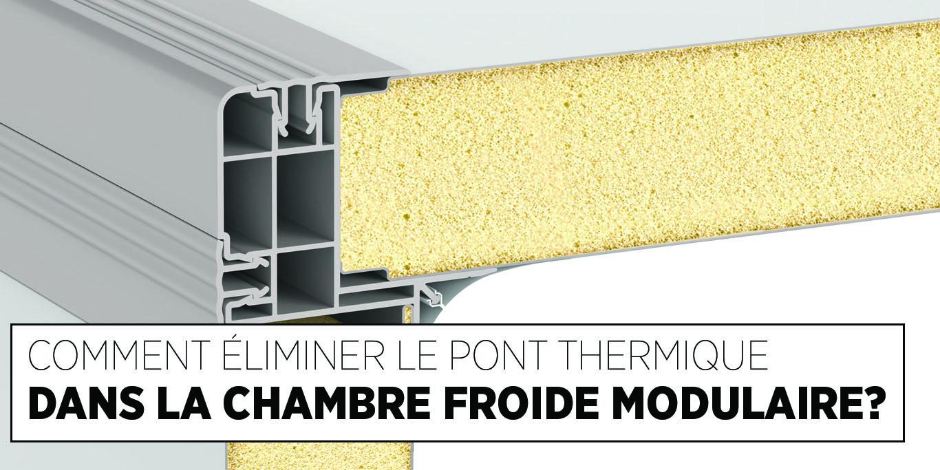 Le Pont Thermique Dans Une Chambre Froide, Fixations en nylon