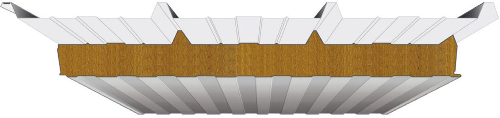 Overlapping of The Roof Insulated Panel