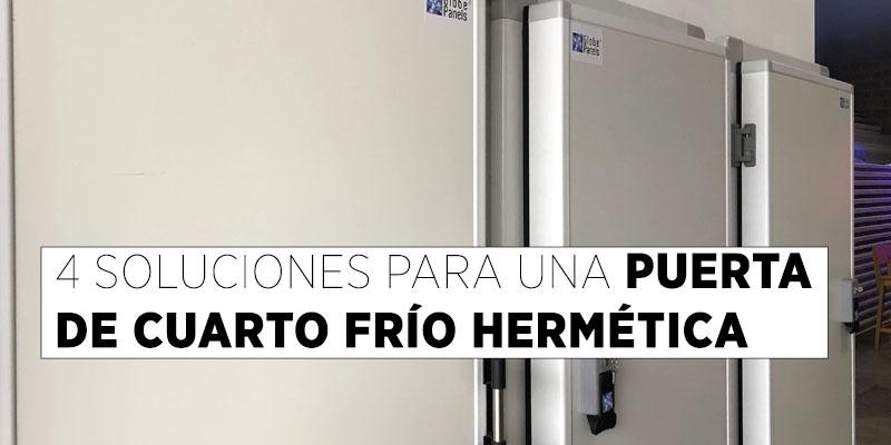 Puerta de Cuarto Frío Hermética