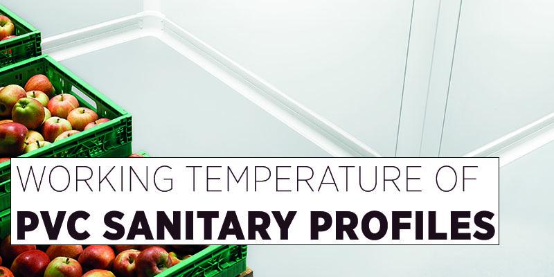 working temperature pvc profiles
