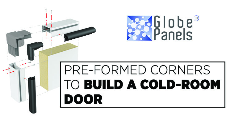 assembling cold room door