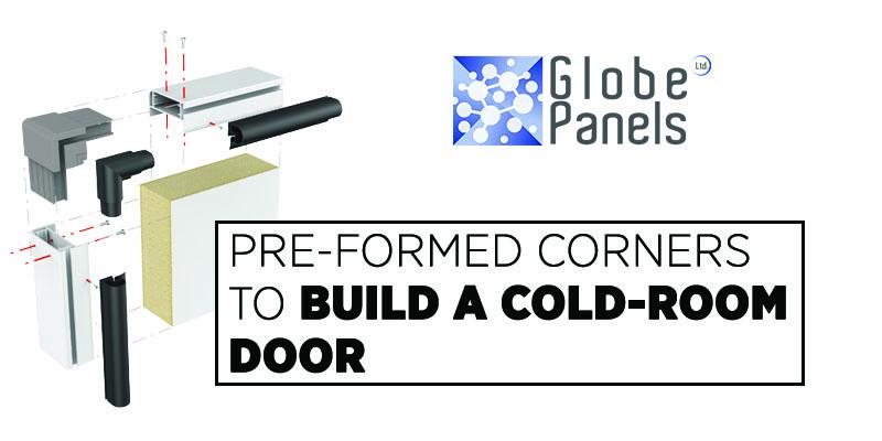 assembling cold room door