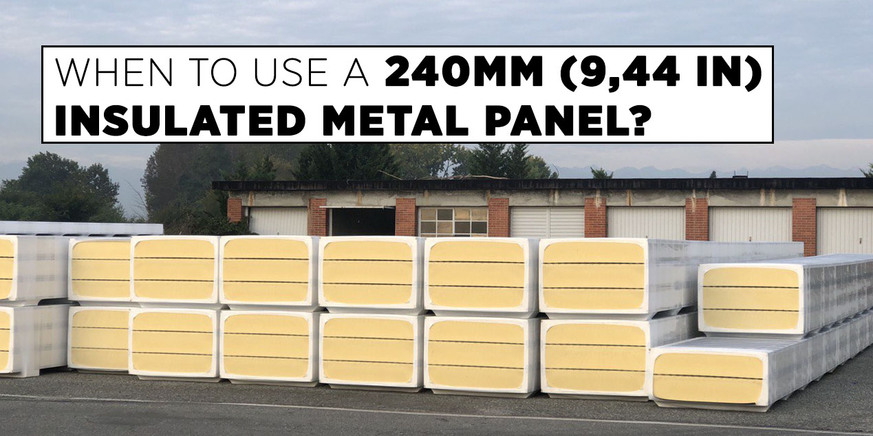 """COLD-ROOM PANELS WITH """"WET"""" JOINT"""