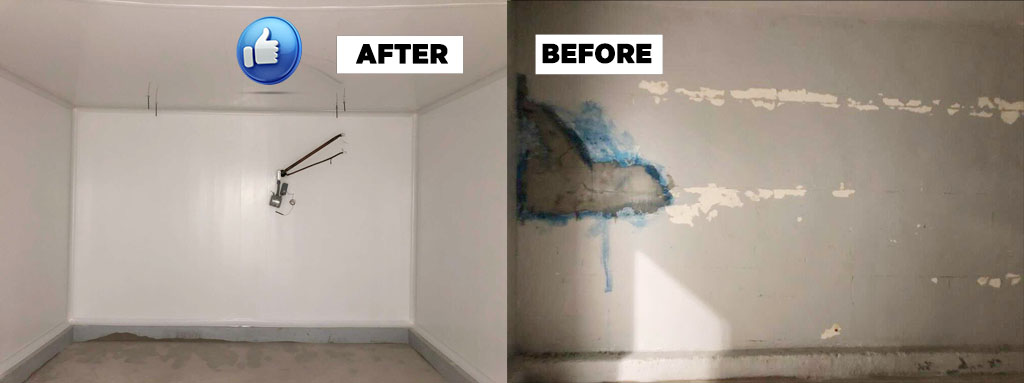 How to Renew a Cold-Room Using PVC Panels