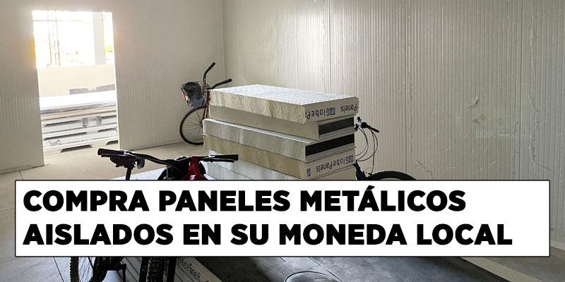 compra paneles metálicos aislados