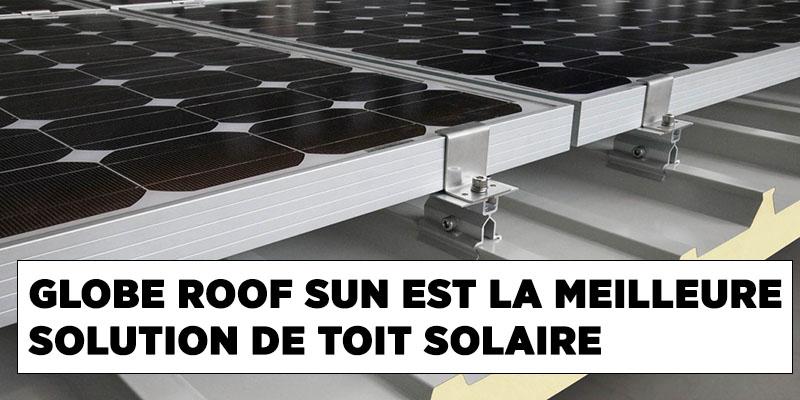 toit solaire industriel