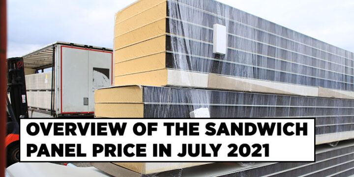 Insulated Panel Price July 2021