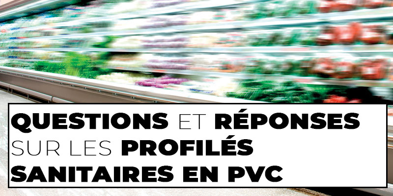 PROFILÉS SANITAIRES EN PVC